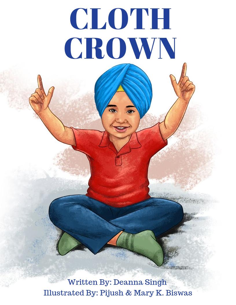 8.5x11 Cloth Crown Book Cover