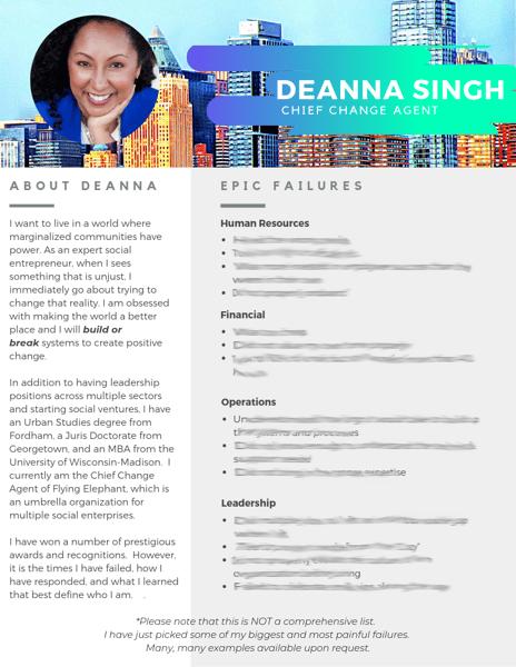 Deanna Singh failsume v2