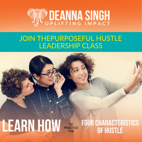 Purposeful Hustle Leadership Class 500x500 ad