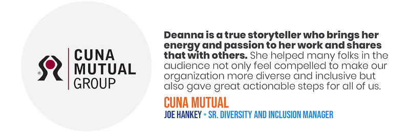 Deana Testimonials - CUNA