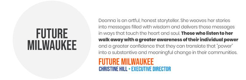 Deana Testimonials - Future MKE