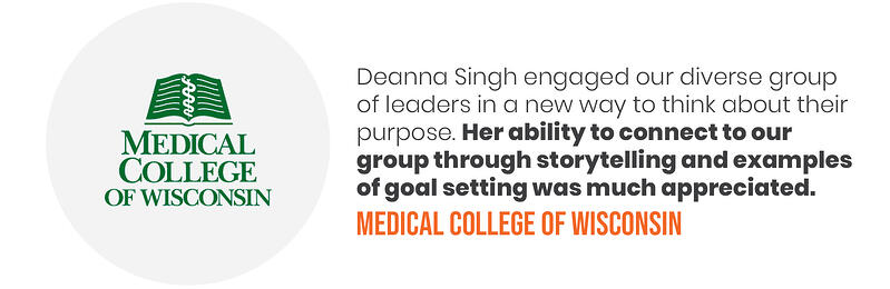 Deana Testimonials - Medical College WI