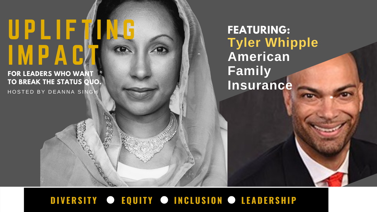 Tyler is the Vice President of Inclusive Excellence at American Family Insurance.